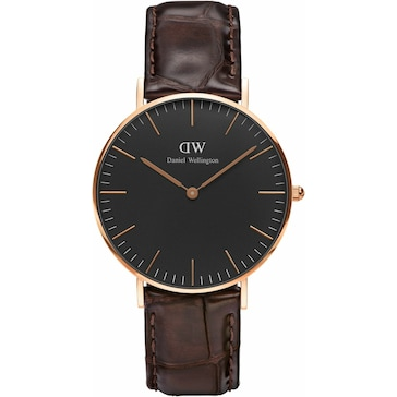 Daniel Wellington Classic Black York Lady Ø 36mm DW00100140