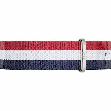 Daniel Wellington Uhrenarmband Textil Cambride Ø 40mm