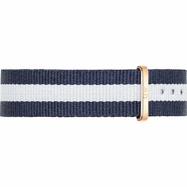 Daniel Wellington Uhrenarmband Textil Classy Glasgow Ø 34mm