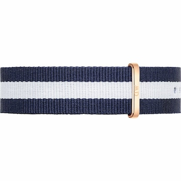 Daniel Wellington Uhrenarmband Textil Glasgow Ø 40mm