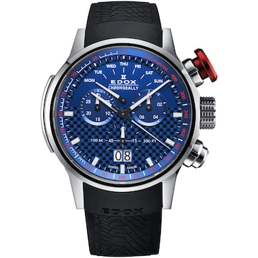 Edox Chronorally Chronograph