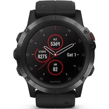 Garmin Fenix 5X Plus GPS-Multisport Smartwatch HR