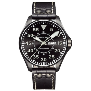 Hamilton Aviation Pilot 46mm H64785835