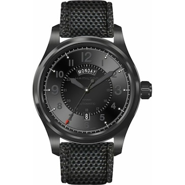Hamilton Khaki Field Full Black Day-Date H70695735
