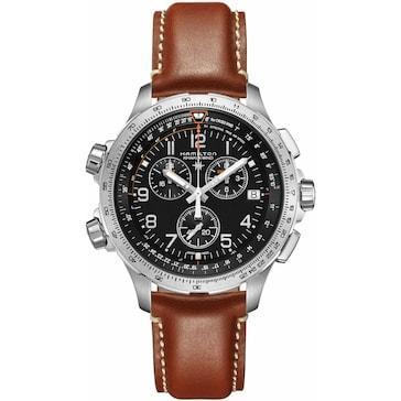 Hamilton Khaki X-Wind Chrono GMT H77912535