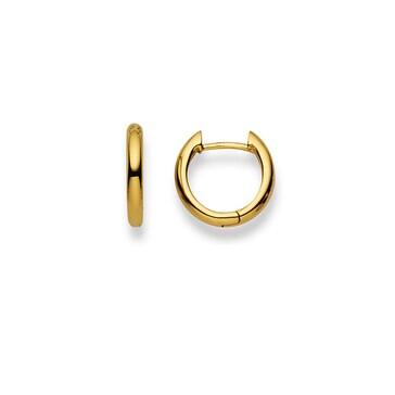 Kreolen 750/18 K Gelbgold Ø 13mm