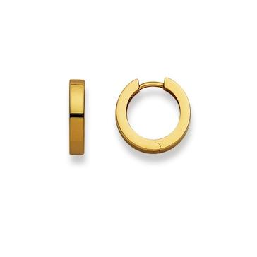 Kreolen 750/18 K Gelbgold Ø 15mm