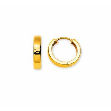Kreolen 750/18 K Gelbgold Ø 16.7mm