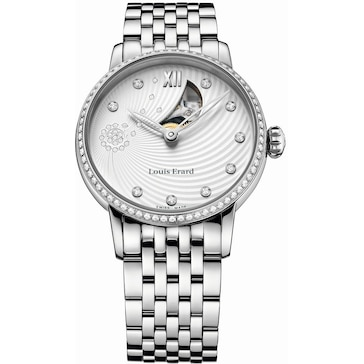 Louis Erard Emotion round Diamonds 64 603 SE11 M