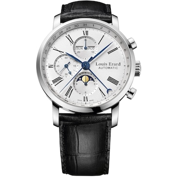 Louis Erard Excellence Chronograph Moonphase 80 231 AA01