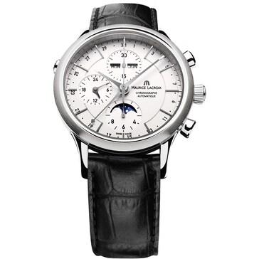 Maurice Lacroix Les Classiques Chronographe Phases de Lune LC6078-SS001-13E