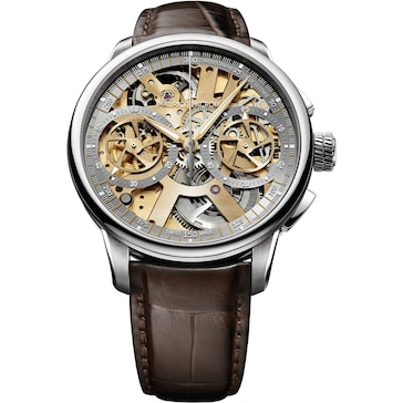 Maurice Lacroix Masterpiece Le Chronographe Squelette Limited Edition MP7128-SS001-500