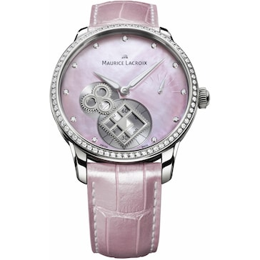 "Maurice Lacroix Masterpiece Square Wheel ""Pink Pearl"" MP7158-SD501-570"