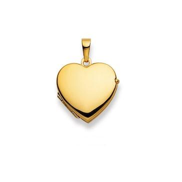 Medaillon zum Öffnen 750/18 K Gelbgold, Herz 1189.02211/0003