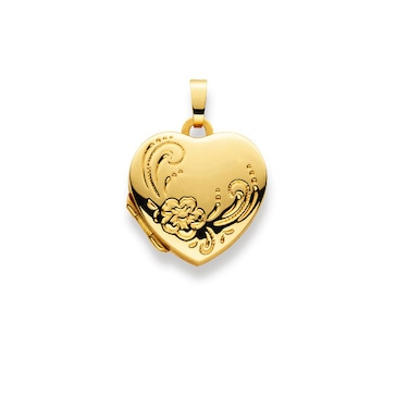 Medaillon zum Öffnen 750/18 K Gelbgold, Herz 1189.02338/0001