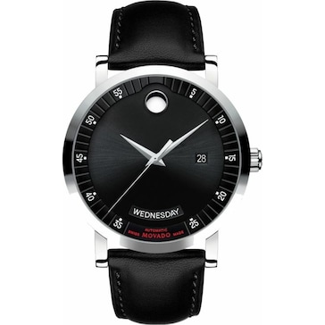 Movado Red Label Day-Date Automatic