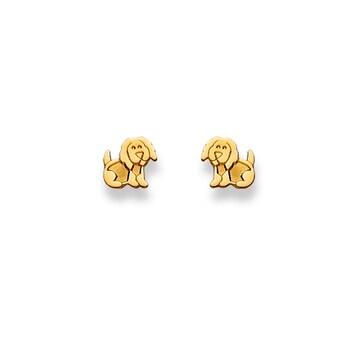 Ohrstecker 750/18 K Gelbgold, Hund 1163.01276/0008