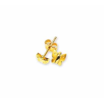 Ohrstecker 750/18 K Gelbgold, Schmetterling