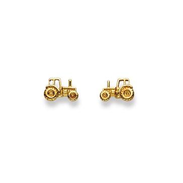 Ohrstecker 750/18 K Gelbgold, Traktor 1163.03035/0001