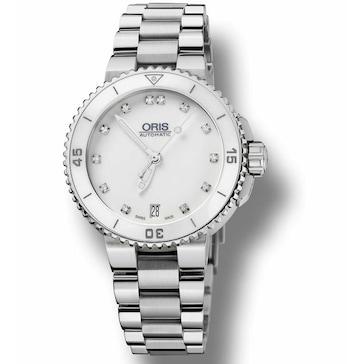 Oris Aquis Date, Diamonds 01 733 7652 4191-07 8 18 01P