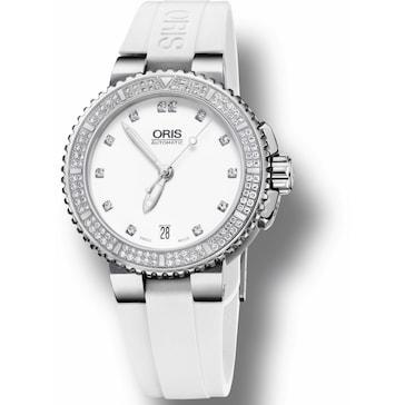 Oris Aquis Date, Diamonds