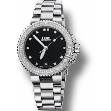 Oris Aquis Date, Diamonds 01 733 7652 4994-07 8 18 01P