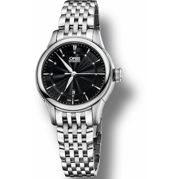 Oris Artelier Date, Diamonds 01 561 7687 4094-07 8 14 77