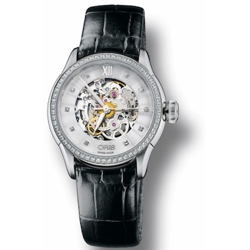 Oris Artelier Skeleton Diamonds 01 560 7604 4919-07 5 16 60FC