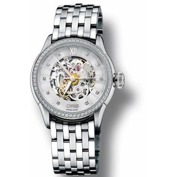 Oris Artelier Skeleton Diamonds 01 560 7604 4919-07 8 16 73