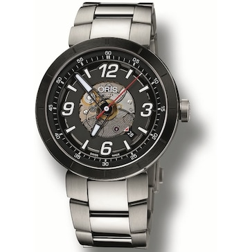 Oris TT1 Skeleton Engine Date 01 733 7668 4114-07 8 25 10