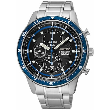 Seiko Chronograph GMT SNDF39P1