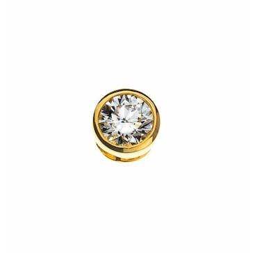 Solitär Anhänger 750/18 K Gelbgold mit Diamant 0.50ct. H/Si