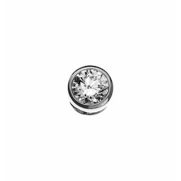 Solitär Anhänger 750/18 K Weissgold mit Diamant 0.33ct. H/Si ASO2029