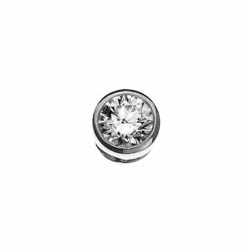 Solitär Anhänger 750/18 K Weissgold mit Diamant 0.50ct. H/Si ASO2030