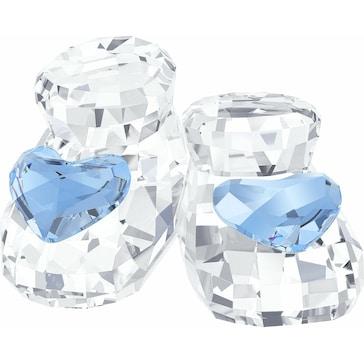 Swarovski Babyschuhe, Blue