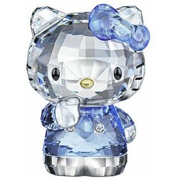 Swarovski Hello Kitty Blue Bow