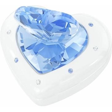 Swarovski Herz-Box, Blue