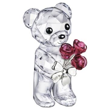 Swarovski Kris Bär - Rote Rosen für Dich