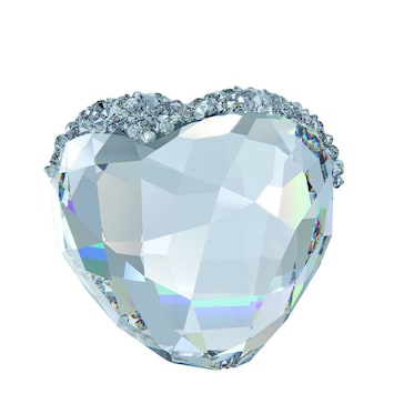 Swarovski Love Heart mittel