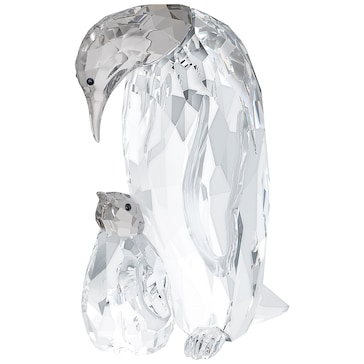Swarovski Pinguin Mutter mit Baby