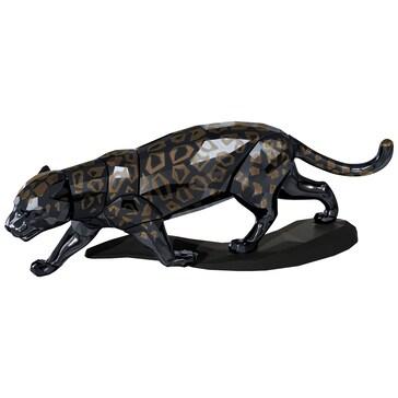 Swarovski Schwarzer Jaguar