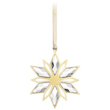 Swarovski Weihnachtsornament, Goldstern