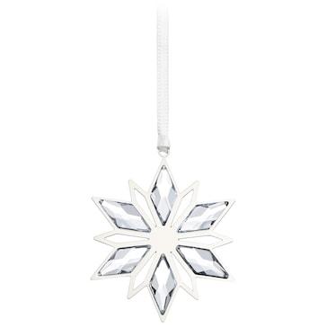 Swarovski Weihnachtsornament, Silberstern