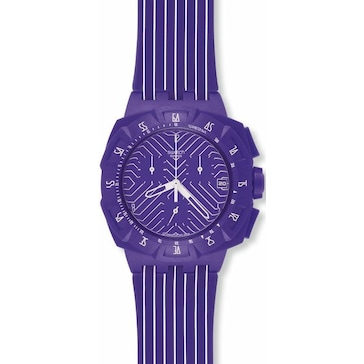 Swatch Purple Run SUIV401