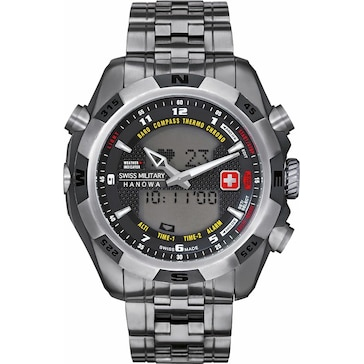 Swiss Military Hanowa Highlander Analog-Digital Multifunktion Titanium