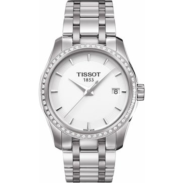 Tissot Couturier Quartz Lady Diamonds T035.210.61.011.00