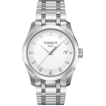 Tissot Couturier Quartz Lady Diamonds