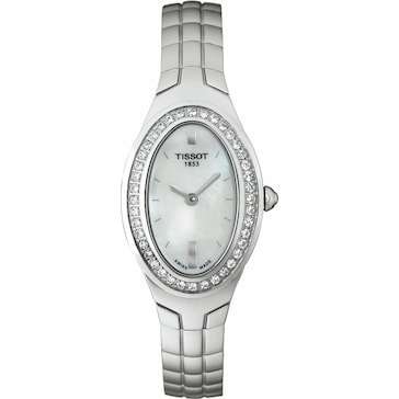 Tissot Oval-T Diamonds