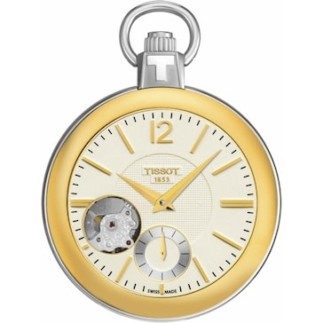 Tissot Pocket Mechanical Skeleton T853.405.29.267.00