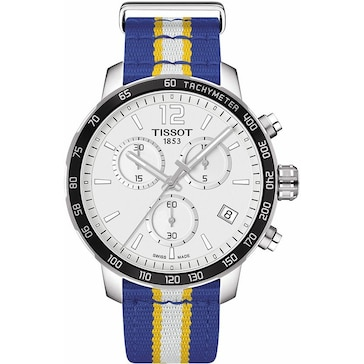 Tissot Quickster NBA Golden State Warriors T095.417.17.037.15
